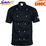 1101 - Traditional Chef Jacket - Short Sleeve