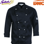 1102 - Traditional Chef Jacket - Long Sleeve
