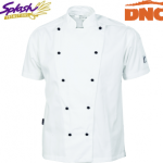 1103 - Cool-Breeze Cotton Chef Jacket - Short Sleeve