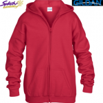 18500B-Classic Fit Youth Hooded Sweatshirt