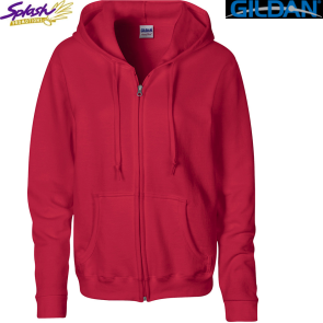 18600FL-Ladies Fit Ladies Full Zip Hooded Sweatshirt