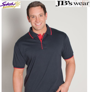 2CT-Mens Cotton Tipping Polo