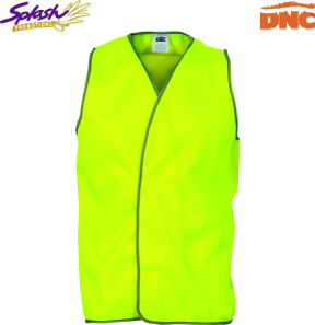 3801 - Daytime HiVis Safety Vests