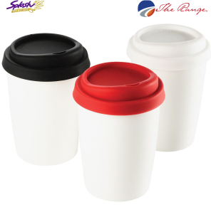 #4030 - Ceramic Mug with silicone lid