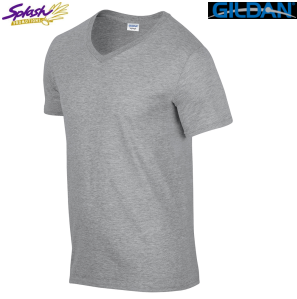 64V00 - Softstyle Adult V-neck T-Shirt