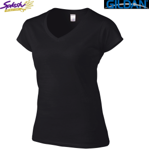 64V00L - Softstyle Ladies V-neck T-Shirt