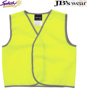 6HVSU - Kids Hi Vis Safety Vest