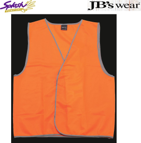 6HVSV - Hi Vis Safety Vest