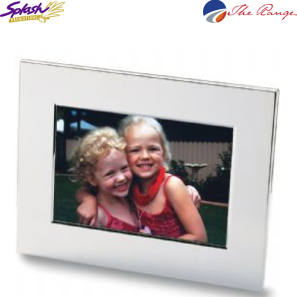 #8811 - Nickel Plated Photo Frame