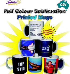 CDI- Full Colour Sublimated Ceramic Mug