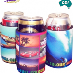CDI-N03 - Sublimated Stubby Holder with Based & Taped