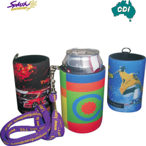 CDI-N04 - Full Colour Stubby Holder with Handy Tag