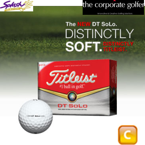 CGB-T14-DTS-3 - Titleist Dt Solo - 3 Ball sleeves (Grade C)