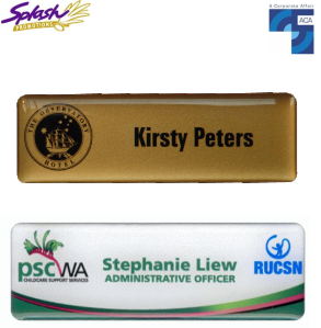 Corporate Classic Plastic Name badge