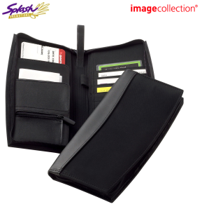 D889 - Madison Leather Travel Wallet