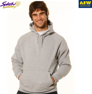 FL07-Mens Close Front Fleece Hoodie