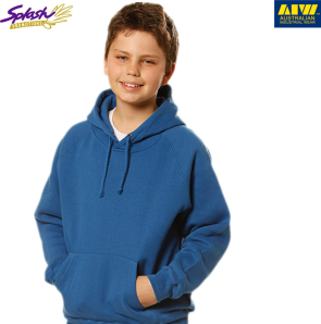 FL07K-Kids Close Front Fleece Hoodie