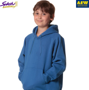 FL09K-Kids Unisex Passion Close Front Fleecy Hoodie
