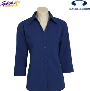 LB7300 - Ladies Metro 3/4 Sleeve Shirt