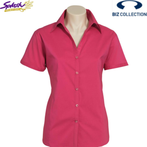 LB7301 - Ladies Metro Short Sleeve Shirt