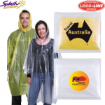 LL1800 - Reusable Poncho In Zipper Pouch