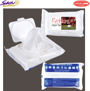 LL4659 - Anti Bacterial Wipes in Pouch x 20