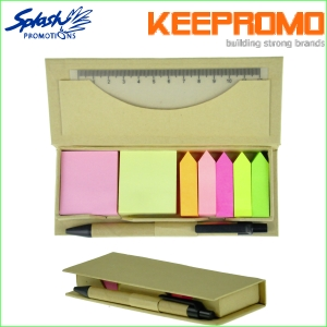 OF0095 _ Memo Sticky Pad with Pen