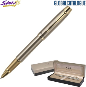 S20061176 -Parker IM Brushed SS GT Rollerball