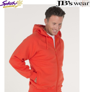 Adult Full Zip Fleecy Hoodie