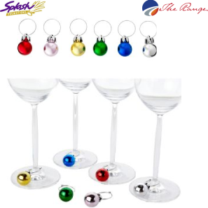 #SM-2123CL Holiday Glass Markers - Clear