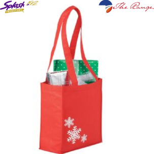 #SM-2173RD Holiday Mini Gift Bag - Red