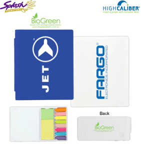 T-493e - BioGreen Flag and Adhesive Note Set
