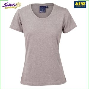 TS28 HIGH PERFORMANCE HEATHER TEE Ladies